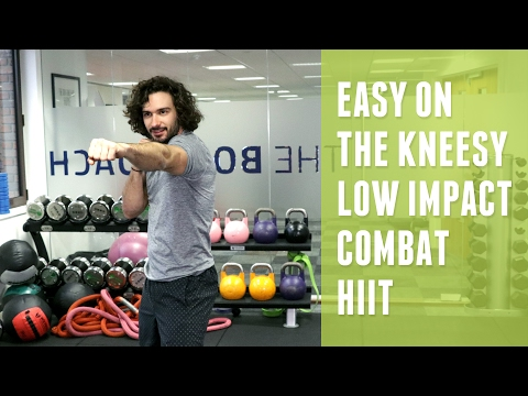 Low Impact Combat HIIT | Easy On The Knees | The Body Coach