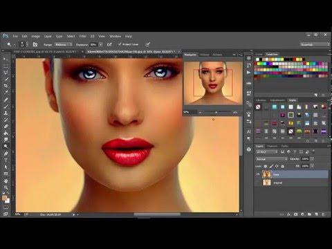 Photoshop Tutorial: Fantacy Face Paint