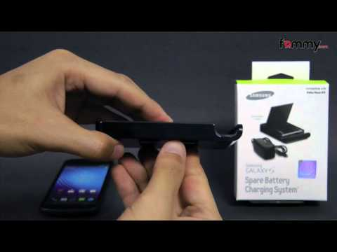 Samsung® (OEM) 1850 mAh Spare Battery Charger Review for Galaxy Nexus in HD