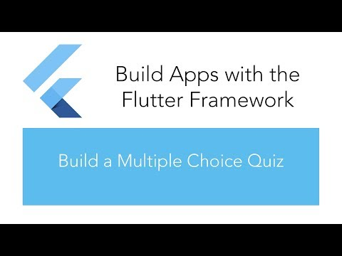 Build a Multiple Choice Quiz App for Android and IOS with Flutter