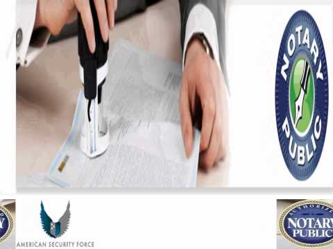 Notary Public Services in California by www.notarypublic.info