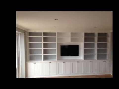 Custom built cabinets with adjustable shelving - U D Carpentry Cambridge