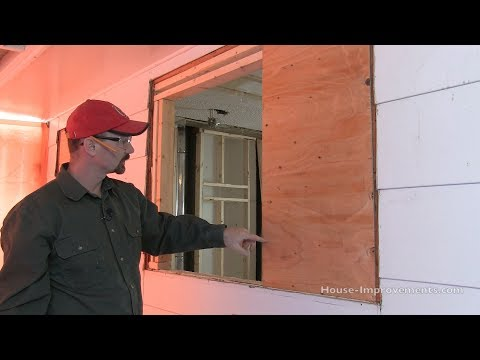 How To Frame in a Smaller Window Opening