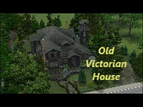 Sims 3 - Beautiful Old Victorian House
