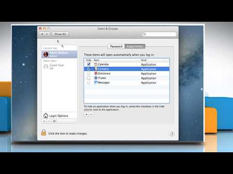 How to add apps/programs  on your startup  menu in Mac