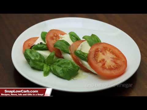 Low Carb - Caprese Salad