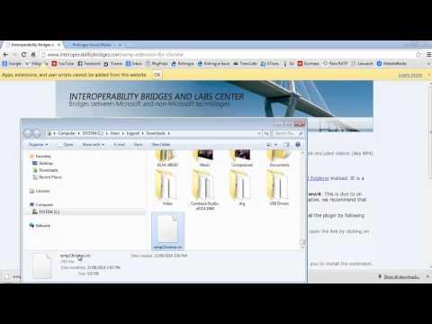 Windows Media Player Extension For Google Chrome