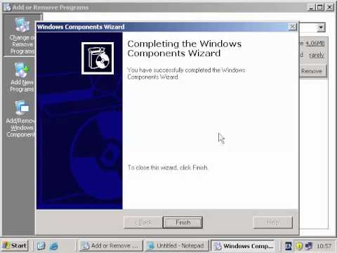 konfigurasi FTP windows server 2003
