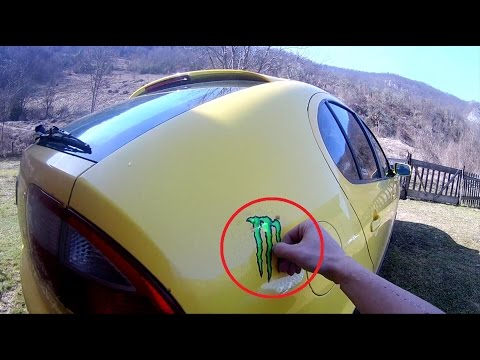 POV DIY - How To Remove Sticker from Car Paint ( Body )