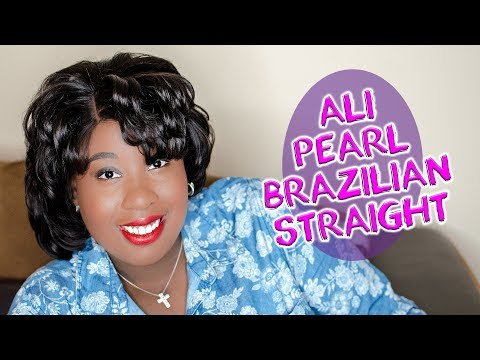Short & Sweet - Ali Pearl Brazilian Straight Hair Review