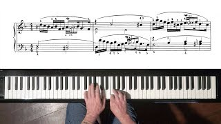 """Bach Prelude No.6 from """"12 Short Preludes"""" for Intermediary Pianists"""