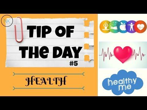 Daily Whatsapp Status Healthy Tip of the Day #5 | Health | Nainja Kapoor