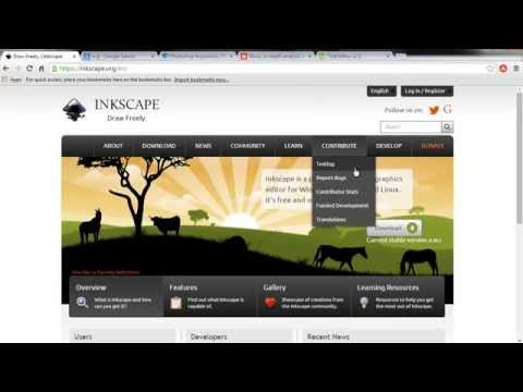 Inkscape - Creating vector graphics for responsive web design!