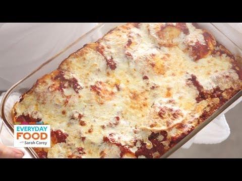 Baked Ravioli - Everyday Food with Sarah Carey