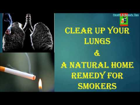 Clear up your lungs & Home remedy