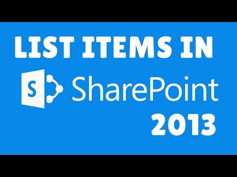 How to create List Items in Sharepoint 2013 | Sharepoint Tutorials