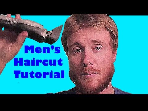 DO IT YOURSELF: MEN's HAIR CUT TUTORIAL* QUICK & EASY