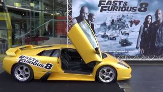 Promotion  for fast & Furious Pathhé  arena Amsterdam
