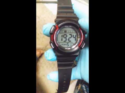 How too change a watch from military time 24 hours too standard