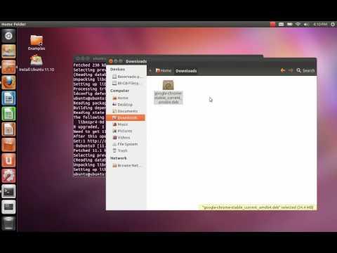 Série Ubuntu: Instalar Google Chrome em Ubuntu 11.10 / 12.04 / 12.10 /13.04