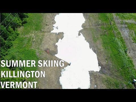 Killington Vermont Summer Skiing June 17, 2017 Last Tracks
