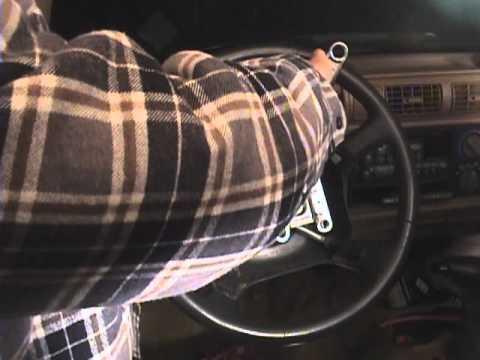 1997 Blazer Steering wheel & airbag Removal