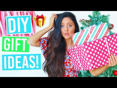 DIY GIFT IDEAS 2016! Cheap + Easy Gifts For Family & Friends This Christmas!