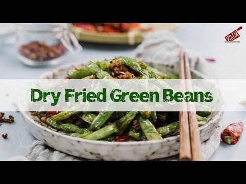 Szechuan dry-fried green beans 干煸四季豆