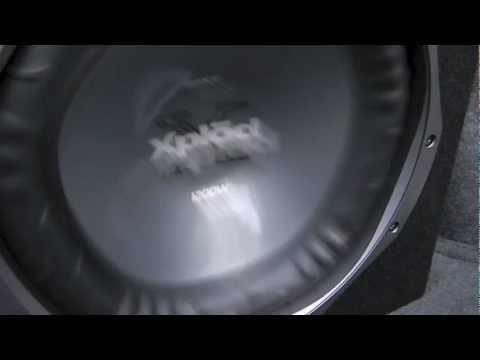 Crazy sony xplod subwoofer (suprizingly amazing)