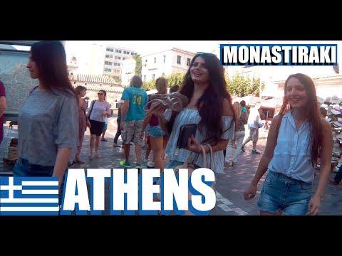 Monastiraki Athens: Walking Around Monastiraki Square From The Metro Stop