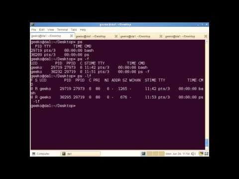 Managing Linux processes with PS and KILL