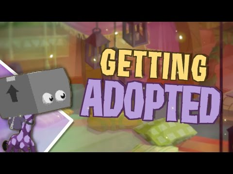 HE GETS ADOPTED IN ANIMAL JAM?!