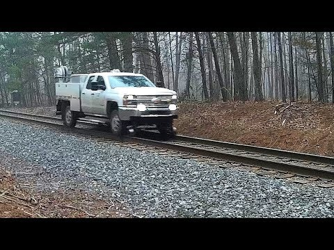 Service Truck On the Rails - Gibsonville, NC