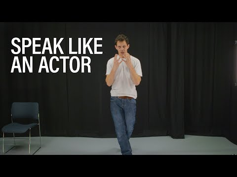 Acting secrets for a strong, dynamic voice