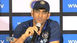 Dhoni Gets Angry At Reporter For Asking About His Retirement