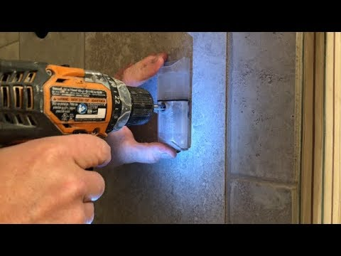 How to Safely Drill a Hole Into Porcelain/Ceramic Tile