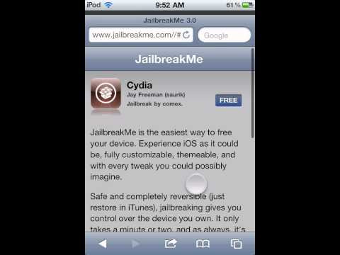 How to get cydia on idevices without computer (untethered)