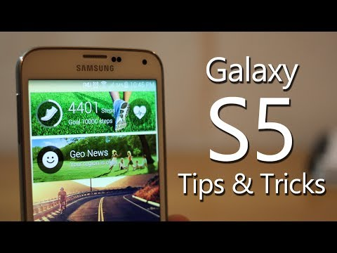 Best Galaxy S5 Tips and Tricks (Hidden features)