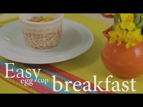 Slimming World easy egg cup breakfast recipe