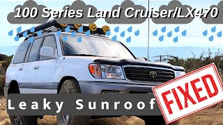 Lexus LX470 Toyota Land cruiser roof rack removal 1999 to 2007