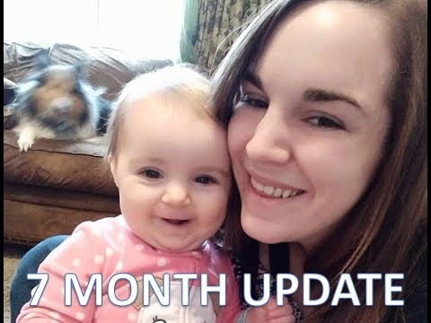 Annabelle's 7 Month Update! [Communication, Crawling, Breastfeeding!]