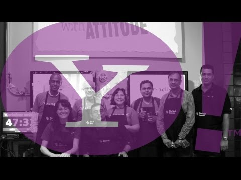 Corporate Volunteering @ The Tech: Yahoo 4 Good