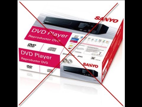 Walmart $24.88 Sanyo DVD Player fwdp105f Review 2017