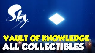 Sky: Children Of The Light Vault Of Knowledge All Collectible Locations (All Stars & Spirits)