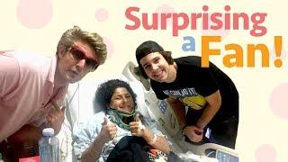 SURPRISING A FAN IN THE HOSPITAL!!