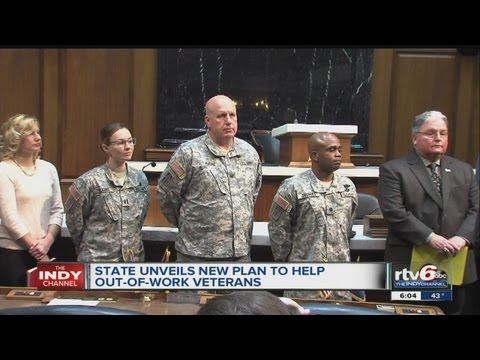 Indiana state jobs council would target veterans' high unemployment rate