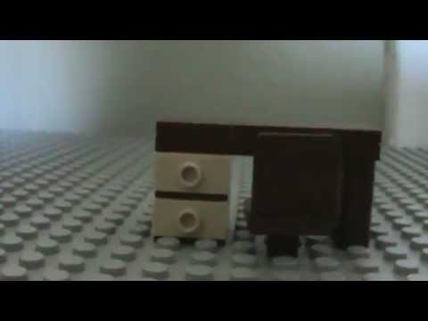 How to Build a Lego Computer Desk