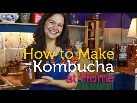 How to Make Kombucha Tea at Home (DIY)