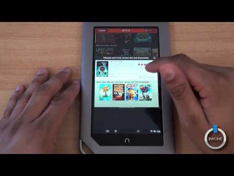 Netflix On The Nook Tablet - BWOne.com