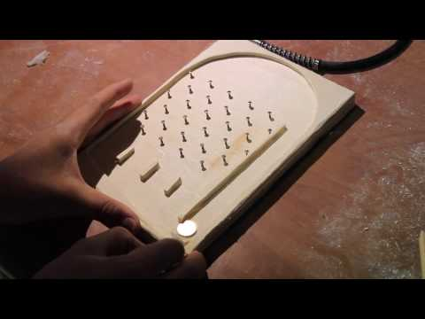 How to make a wood hasard game